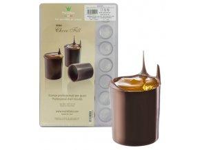 15017 forma na cokoladu kalisek 28 tvaru forma