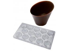 15020 forma na cokoladu kalisek 14 tvaru forma