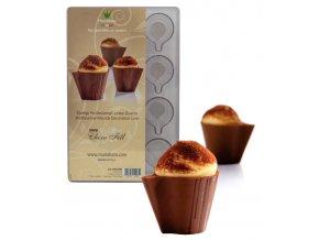 15035 forma na cokoladu salek 12 tvaru forma