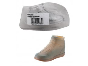 15113 forma na cokoladu 3d snerovaci bota 1 tvar 1 par forem