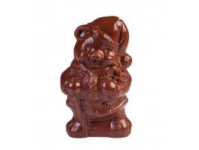 15116 forma na cokoladu 3d vanocni medved 1 tvar 1 par forem