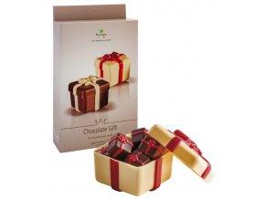 15146 forma na cokoladu pe darkova krabicka 110g 2 tvary forma 2 formy