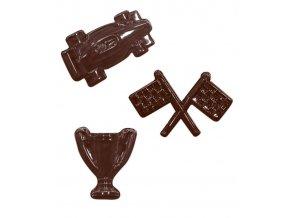 15152 forma na cokoladu pe formule 4 tvary forma