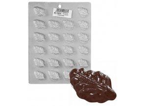 15176 forma na cokoladu pe list 22 tvaru forma