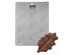 15179 forma na cokoladu pe listy cesminy 11 tvaru forma