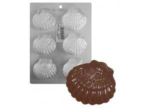 15191 forma na cokoladu pe musle 6 tvaru forma