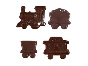 15209 forma na cokoladu pe vlacek 16 tvaru forma