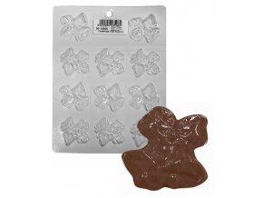 15212 forma na cokoladu pe zvonecky 11 tvaru forma