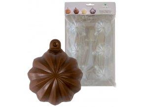 15221 forma na cokoladu pe sada 2 ks vanocni koule babovka 6 tvaru forma 2 formy