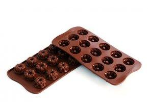 Silikonová forma na čokoládu – bábovky