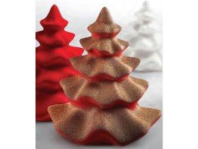 15248 forma na cokoladu sada 2 kusy vanocni stromek 1 tvar 2 pary forem