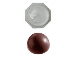 15257 forma na cokoladu vivak polokoule 1 tvar forma