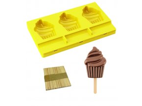 9689 forma na nanuky cupcake 50ks drivek 3x40ml