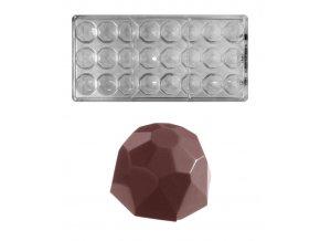 15416 forma na pralinky diamant 10g 3x8 tvaru forma