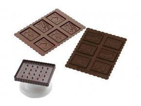 Silikonová sada na sušenky MŇAM MŇAM
