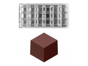 16253 forma na pralinky magneticka cube 12g 3x6 tvaru forma