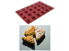 9734 forma perforovana formasil 24ks tarteletky 6 5x6 5 v 2cm
