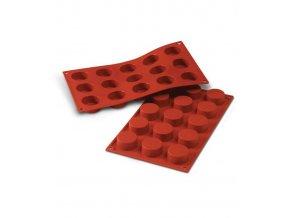 9815 forma silikonova 15ks petit four prum 4 v 2cm