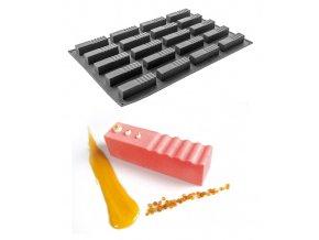 9860 forma silikonova 20ks log 12x3 v 3 2cm 110ml