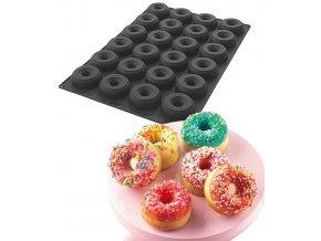 9893 forma silikonova 24ks donuty prum 8 5 v 2 9cm