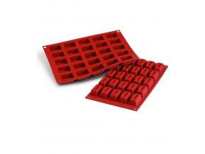 9968 forma silikonova 25ks cihlicka mala prum 4 1x2 3 v 2cm