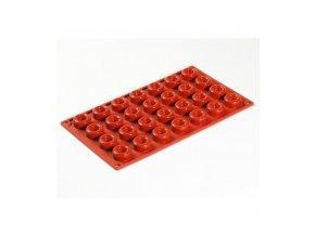 9983 forma silikonova 28ks savarin kulaty prum 3 v 1 4cm