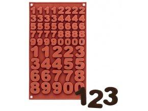 10019 forma silikonova 40ks mala 20ks velka cisla 1 5x2 2 7x3 4 v 0 6cm