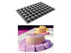 10058 forma silikonova 54ks mini muffin prum 5 v 2 8cm 45ml