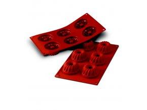 10079 forma silikonova 6ks babovky prum 7cm v 3 6cm