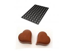 10154 forma silikonova 70ks mini srdce 3 6x3 9 v 1 6cm