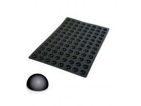 10202 forma silikonova 96ks polokoule prum 3 5 v 1 75cm