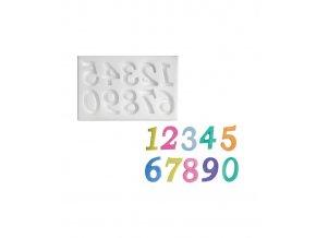 10304 forma silikonova 3d cisla velka 2 7x1 7cm