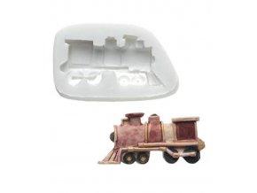 10388 forma silikonova 3d lokomotiva 5x2 5cm