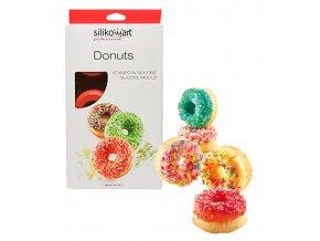 10517 forma silikonova 6ks donuts velke 6x98ml
