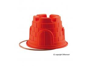 10523 forma silikonova babovka hrad prum 20 v 14cm