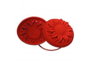 10541 forma silikonova babovka slunecnice prum 26 v 7cm