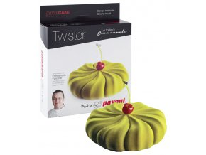 10796 forma silikonova design twister 3d 1000ml
