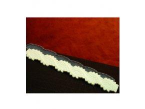 10904 forma silikonova krajkova tocena s listy 30 2x5 1 v 0 6cm