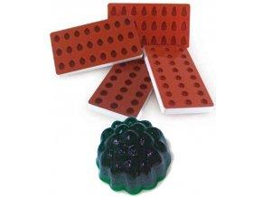 10949 forma silikonova na zelatinu ostruzina 3x8 tvaru forma