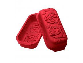 10958 forma silikonova pekac ruze 30x14 5 v 8cm