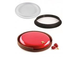 10991 forma silikonova s rafkem tarte ring 400ml