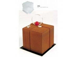 9179 forma za studena hi cake jednorazova krychle 11x11 v 10cm