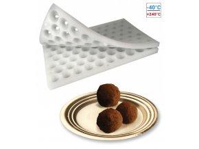 16643 formy silikonove na lanyze sada 2 ks truffles prum 2 5cm