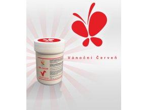 4157 gelova barva vanocni cerven 30 g kelimek