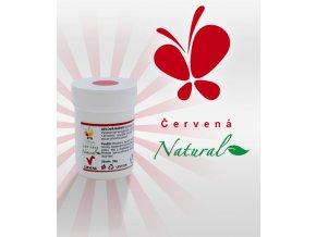 4190 gelova barva natural line prirodni cervena 30 g kelimek