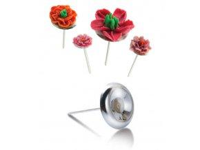 12599 hrebik na cukrove kvetiny nerez prum 4 5cm