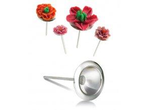 12602 hrebik na cukrove kvetiny nerez prum 4 5cm