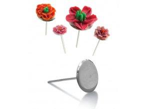 12605 hrebik na cukrove kvetiny nerez prum 4cm