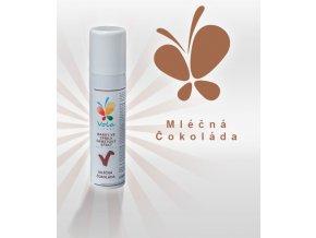 4070 chablonage sprej sametovy efekt af mlecna cokolada 100 ml sprej