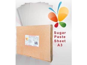 17780 jedly fondanovy papir a3 pro tisk cukrova folie 0 45mm 30 ks krabice